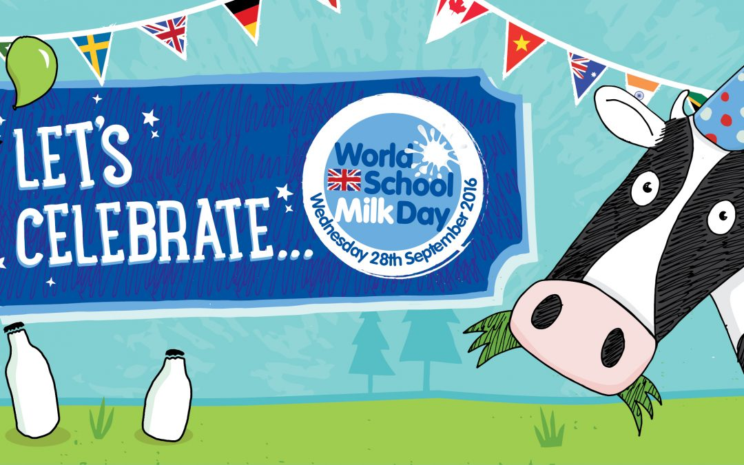 Get ready for World School Milk Day 2016