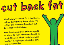 Cut back fat