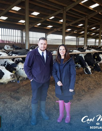 Sharon visits D&D Dairies to see exactly how our locally-sourced Scottish milk is made