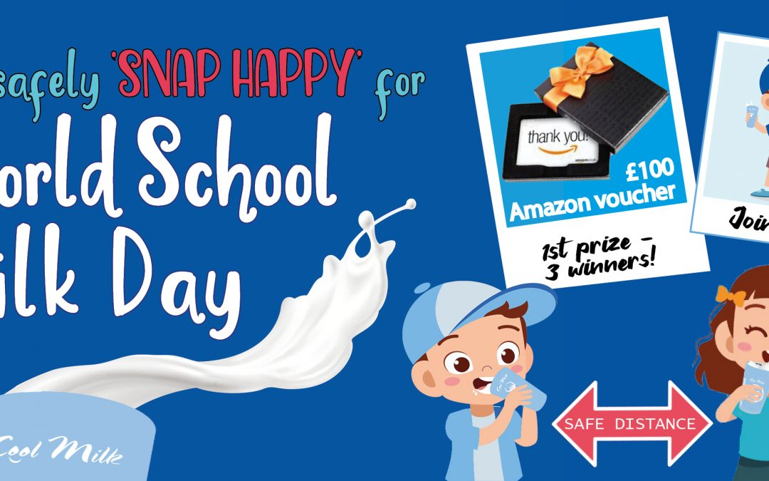 Get safely 'snap happy' for World School Milk Day