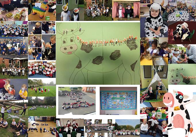 World School Milk Day Collage