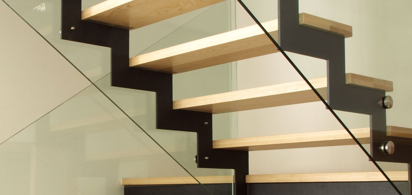 Glass Stair Bannister
